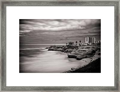 La Jolla Coast Framed Print by Tanya Harrison