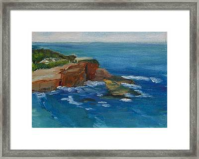 La Jolla Cove 023 Framed Print
