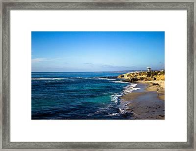 La Jolla Cove Framed Print by Marc Bottiglieri