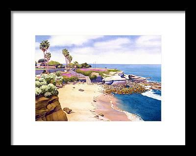 La Jolla Framed Prints