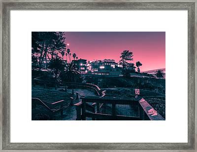 La Jolla Cove Framed Print by Sonny Marcyan