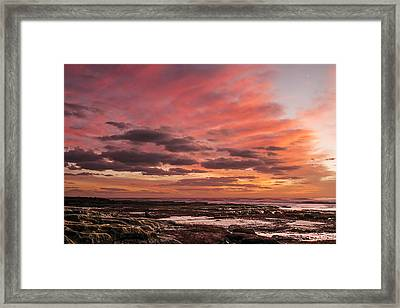 La Jolla Sunset 1 Framed Print