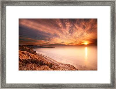 La Jolla Sunset 5 Framed Print