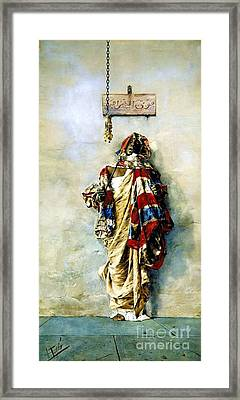 La Ladrona Framed Print by Pg Reproductions