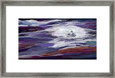 La Luna 2 Framed Print by Jeanne Fischer