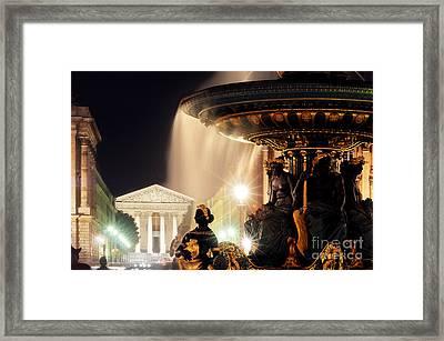 La Madeleine Paris Framed Print by Colin Woods