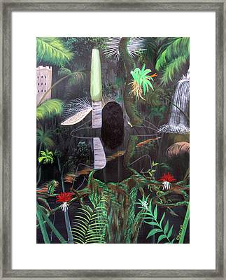La Madre Del Bosque Framed Print