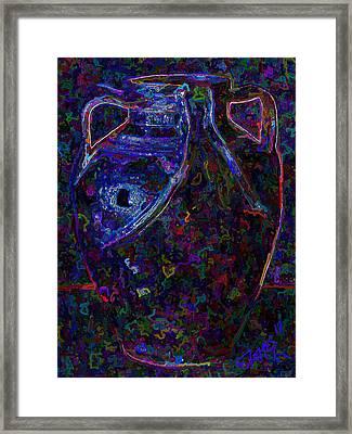 La Madrilena Framed Print