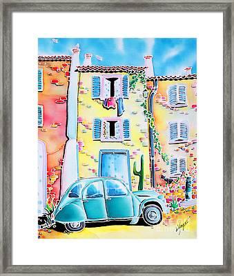 La Maison De Copain Framed Print