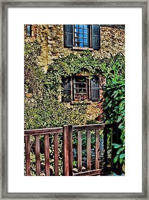 La Maison En Pierre Framed Print by Tom Prendergast
