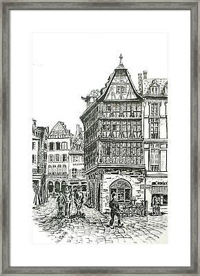 La Maison Kamerzell Framed Print by Janice Best