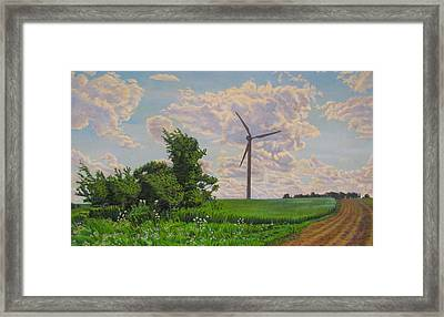 La Mancha Framed Print by Kenneth Cobb