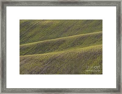 La Mancha Landscape - Spain Series-dos Framed Print by Heiko Koehrer-Wagner