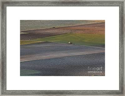 La Mancha Landscape - Spain Series-siete Framed Print by Heiko Koehrer-Wagner