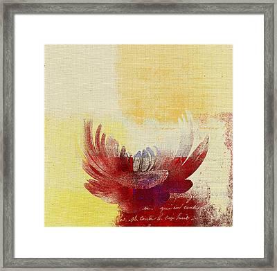 La Marguerite - 194191203-ro06tc Framed Print