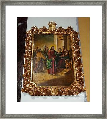 La Merced Via Crucis 1 Framed Print