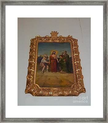 La Merced Via Crucis 10 Framed Print