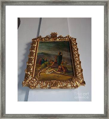 La Merced Via Crucis 11 Framed Print