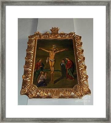 La Merced Via Crucis 12 Framed Print