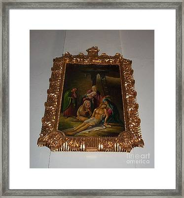 La Merced Via Crucis 13 Framed Print