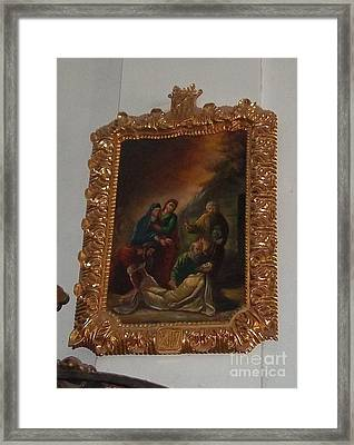La Merced Via Crucis 14 Framed Print
