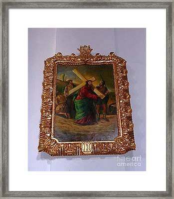 La Merced Via Crucis 2 Framed Print