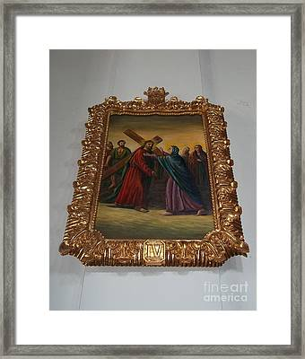 La Merced Via Crucis 4 Framed Print