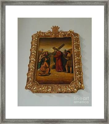 La Merced Via Crucis 8 Framed Print