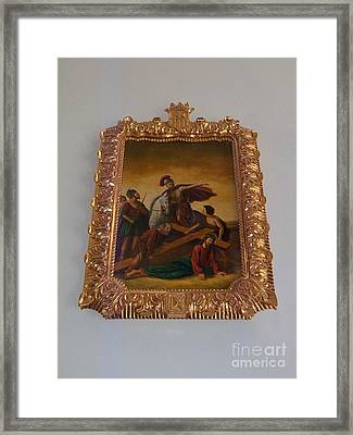 La Merced Via Crucis 9 Framed Print