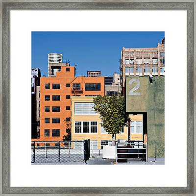 La Mixture Framed Print by Art Block Collections