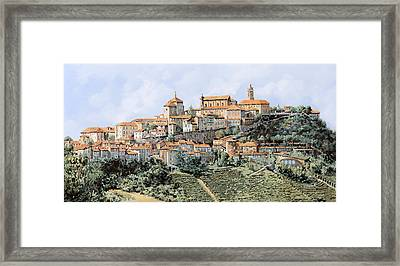La Morra Framed Print by Guido Borelli