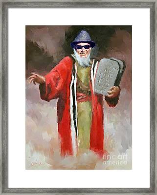 La Moses Framed Print by Gerhardt Isringhaus