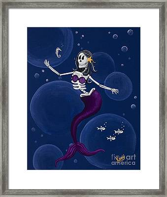 La Muerta Del Mar / The Dead Of The Sea Framed Print