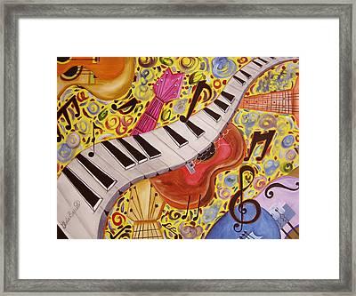 La Musica Framed Print