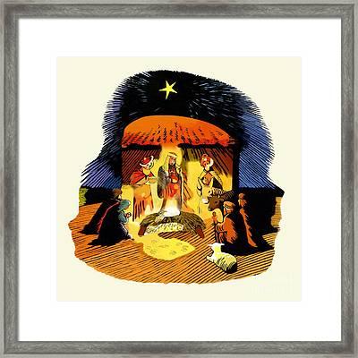 La Natividad Framed Print by Roger Kohn