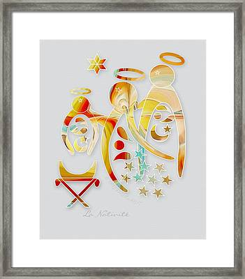 La Nativite Framed Print by Gayle Odsather