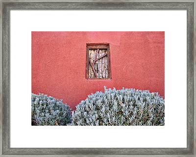 La Pared - 2 Framed Print by Nikolyn McDonald