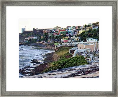 La Perla Framed Print by Daniel Sheldon