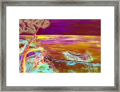 La Pesca Framed Print by Loredana Messina