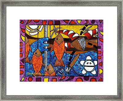 La Pesca Virgen De Un Hombre Honrado Framed Print