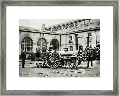 La Petite Locomotive Framed Print