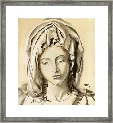 La Pieta 2 Framed Print