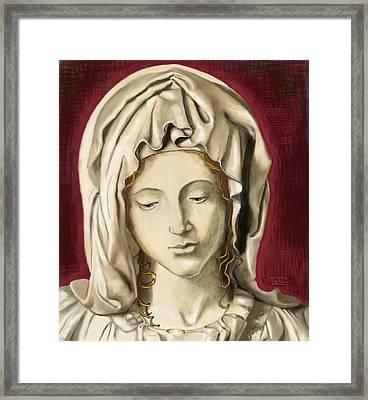 La Pieta 3 Framed Print