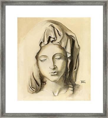 La Pieta-progression 1 Framed Print