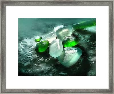 La Playa De Los Cristales  Framed Print by Alfonso Garcia