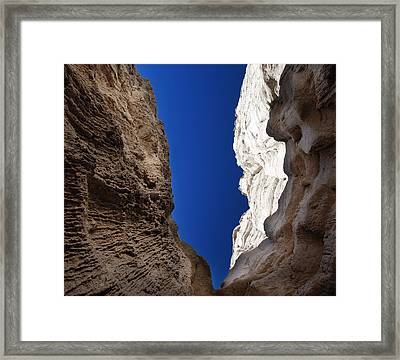 La Plaza Blanca Framed Print by Julie VanDore