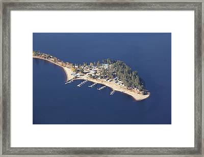 La Pointe A David Framed Print