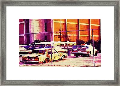 La Police Compound Framed Print