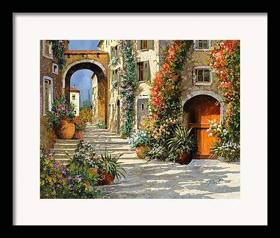 Old Door Paintings Framed Prints