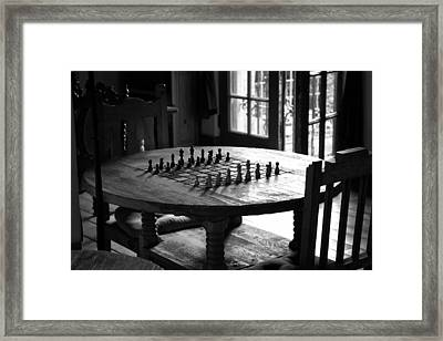 La Posada Game Room Framed Print
